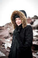 Child Portrait Session - Snow and Winter Photography